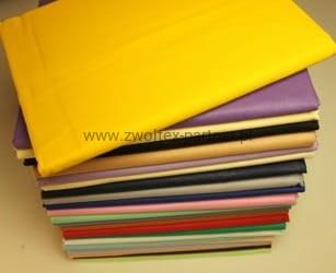 Prześcieradło Bawełniane Bez Gumki żółte 200x220 Zwoltex Partner